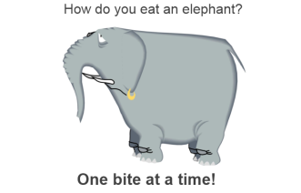 eating-an-elephant-one-bite-at-a-time